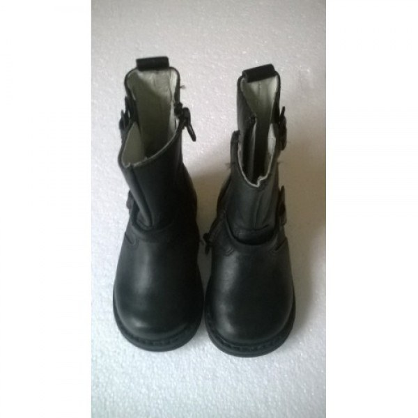 Bottines cuir fille